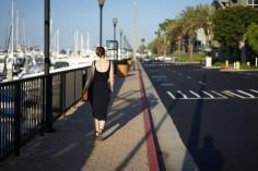 Woman walking Woman www. InstantFashionMix.com