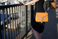 Yellow Handbag Woman www. InstantFashionMix.com (2)